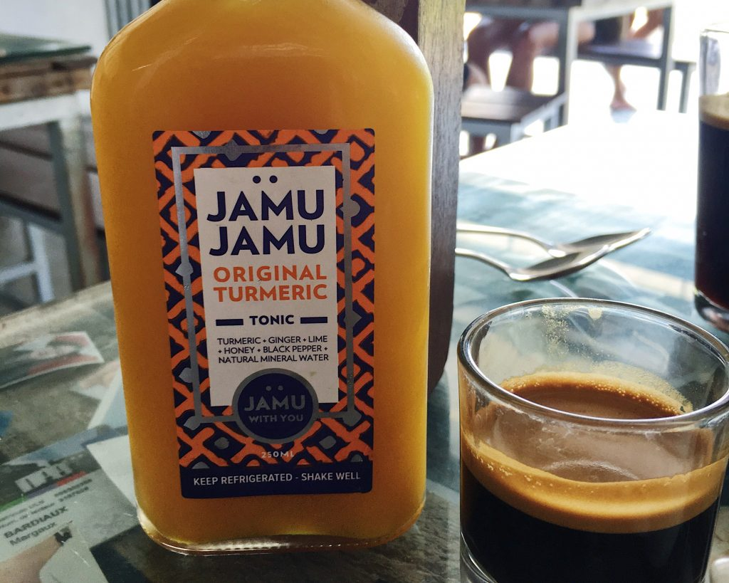 Jamu, a turmeric-based tonic from Indonesia